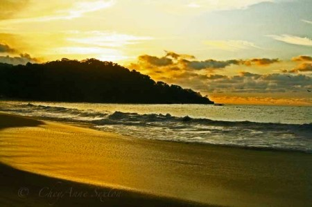 sunset @ Lo de Morcos wider