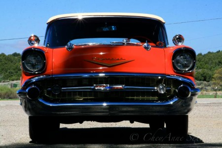 57 fuel injected Chevy