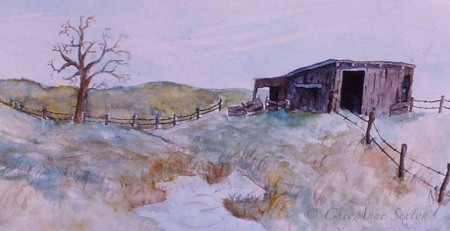 little shack watercolor 84