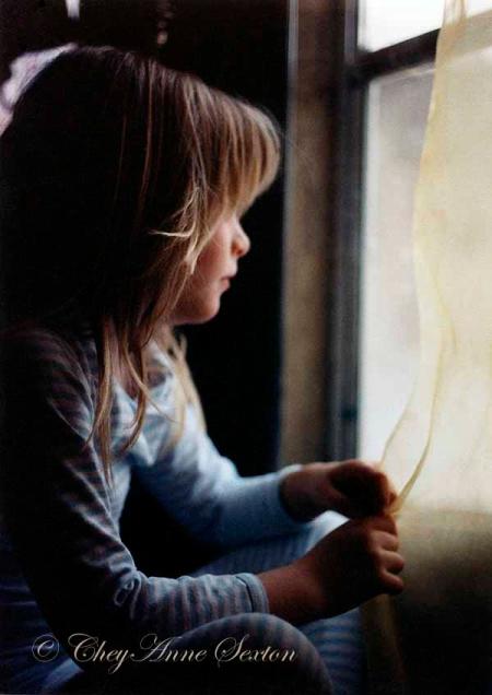 Rachael in the Window