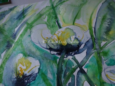 water in watercolour