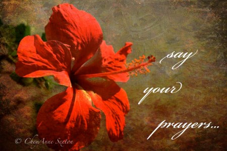 'Saying our Prayers'