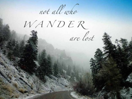 Not all who Wander are Lost  CheyAnne Sexton